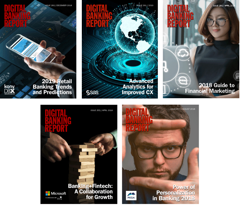 Digital Banking Report Covers